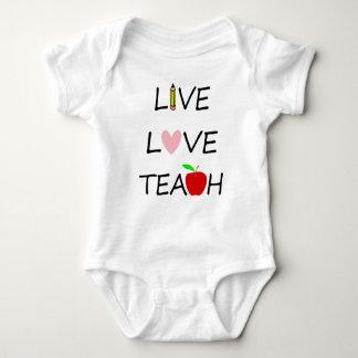 Body Para Bebé el amor vivo enseña