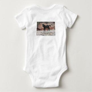 Body Para Bebé El bebé sabe el mejor, juego de salto de la regla