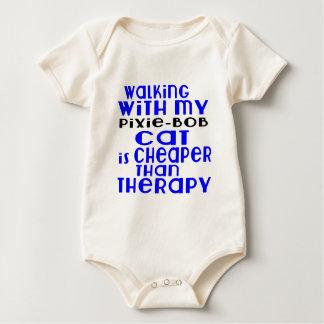 Body Para Bebé El caminar con mis diseños del gato de