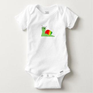 Body Para Bebé El caracol del la de Sullivan ama música: Reggae