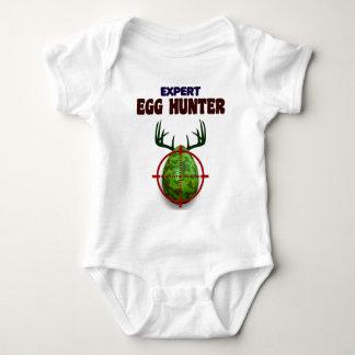 Body Para Bebé El cazador experto de Pascua, ciervo del huevo
