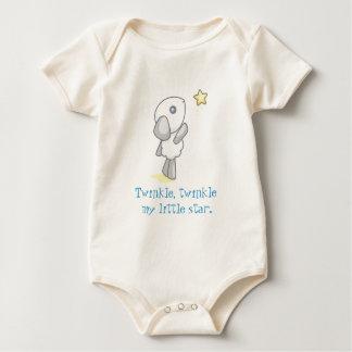 Body Para Bebé El centelleo, centellea mi pequeña estrella