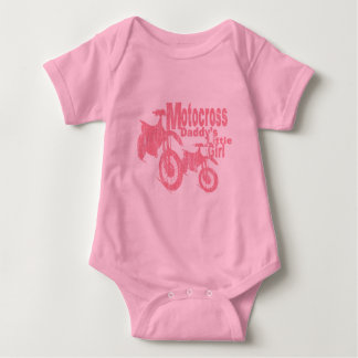 Body Para Bebé El chica del papá del motocrós