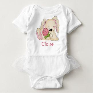 Body Para Bebé El conejito personalizado de Claire
