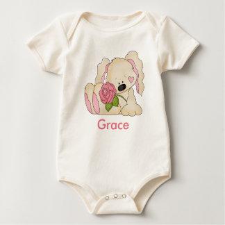 Body Para Bebé El conejito personalizado de la tolerancia