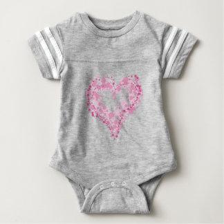 Body Para Bebé El corazón hermoso del bebé