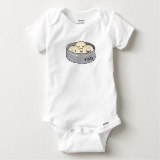 Body Para Bebé El desayuno chino del dim sum del bollo del cerdo