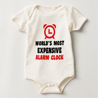 Body Para Bebé el despertador más costoso del mundo