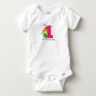 Body Para Bebé El día de mi 1r St Patrick