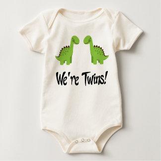 Body Para Bebé El dinosaurio lindo hermana el regalo