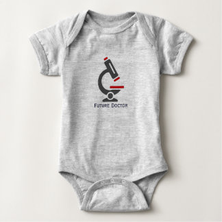 Body Para Bebé El doctor futuro Microscope Design Baby Clothing