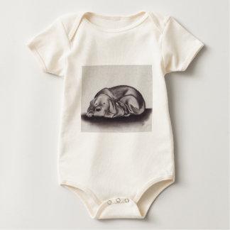 Body Para Bebé El dormir del Snuggle del perro y del gato