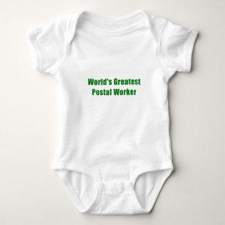Body Para Bebé El empleado de correos más grande de los mundos