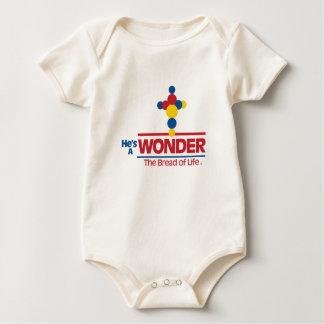 Body Para Bebé Él es una ropa temática cristiana del equipo del