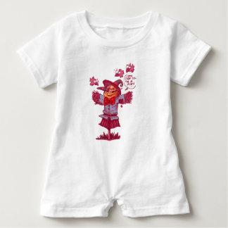 Body Para Bebé el espantapájaros da el dibujo animado del mensaje