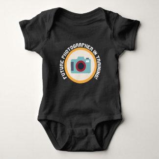 Body Para Bebé El fotógrafo futuro en el entrenamiento añade el