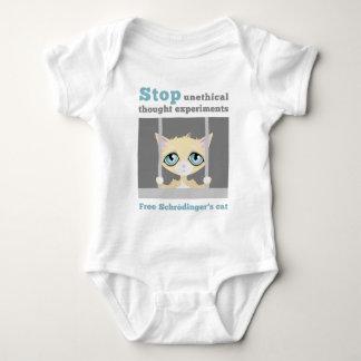 Body Para Bebé El gato de Schrodinger libre