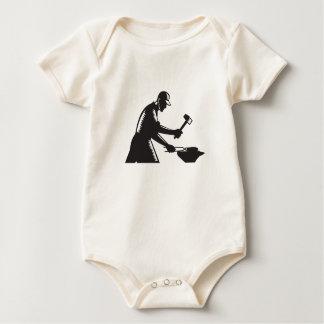 Body Para Bebé El hierro de la forja del trabajador del herrero