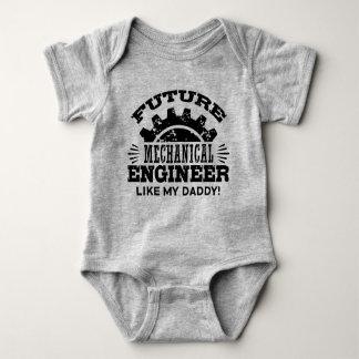 Body Para Bebé El ingeniero industrial futuro tiene gusto de mi