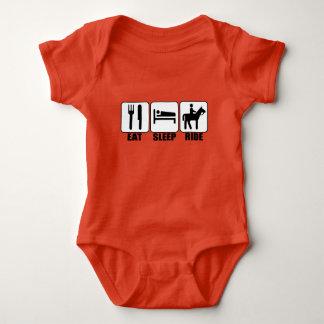 Body Para Bebé El jinete del bebé come paseo del sueño un