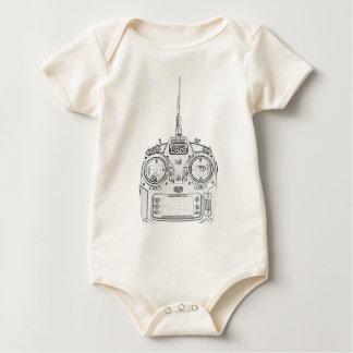 Body Para Bebé El lápiz frotó la radio de Spektrum RC