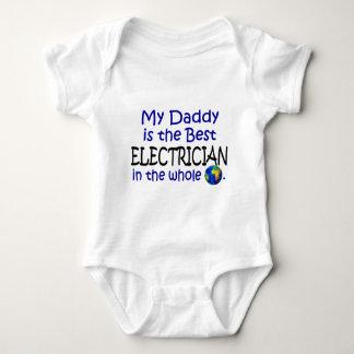 Body Para Bebé El mejor electricista en el mundo (papá)