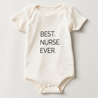Body Para Bebé El mejor. Enfermera. Nunca