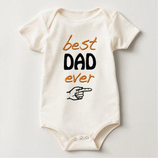 Body Para Bebé El mejor papá nunca