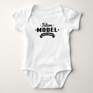 Body Para Bebé El modelo futuro tiene gusto de mi mamá
