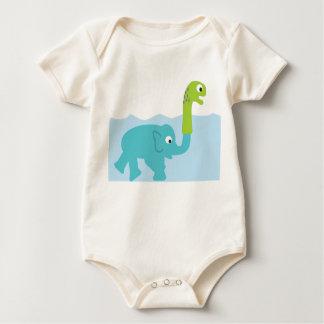 Body Para Bebé ¡el monstruo real de Loch Ness!