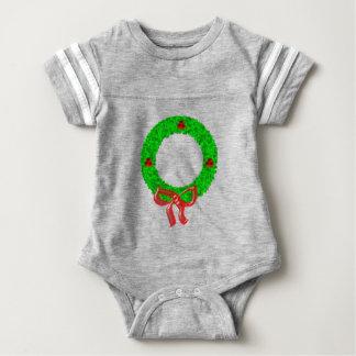 Body Para Bebé El navidad enrruella verde