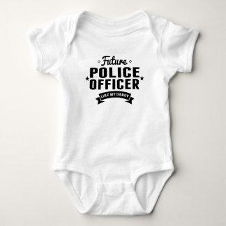 Body Para Bebé El oficial de policía futuro tiene gusto de mi