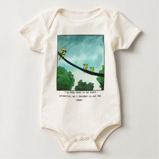 Body Para Bebé El pájaro cortó el cable