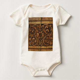Body Para Bebé el panel de madera