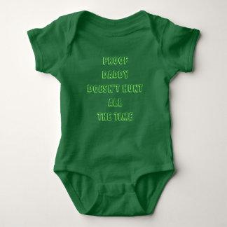 Body Para Bebé El papá de la prueba no caza todo el tiempo