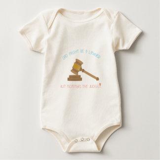 Body Para Bebé ¡El papá pudo ser el juez del abogado pero de la
