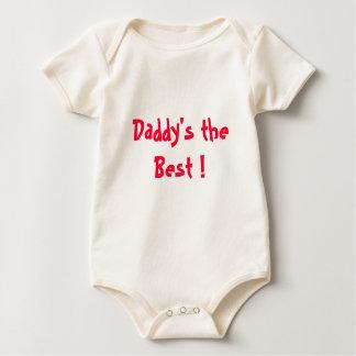 Body Para Bebé ¡El papá y la mamá es el mejor!