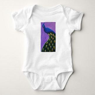 Body Para Bebé El pavo real empluma abajo