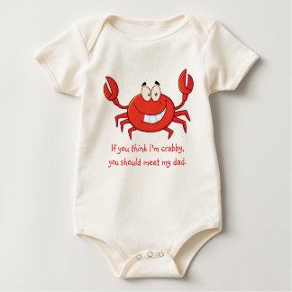 Body Para Bebé El pequeño cangrejo del papá