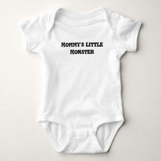 Body Para Bebé El pequeño monstruo de la mamá