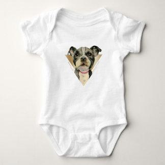 """Body Para Bebé El """"perrito observa"""" la acuarela del perro del"""
