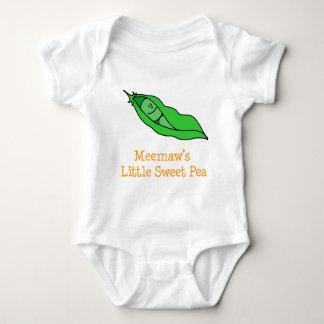 Body Para Bebé El poco guisante de olor de Meemaw