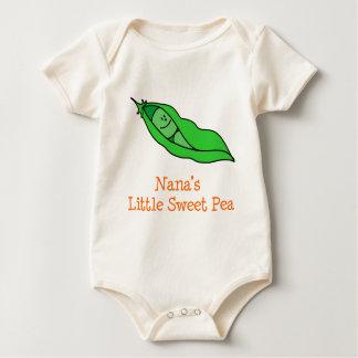 Body Para Bebé El poco guisante de olor de Nana