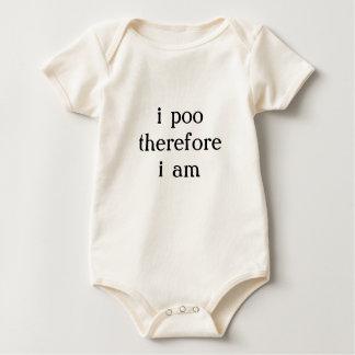 Body Para Bebé el poo i por lo tanto estoy