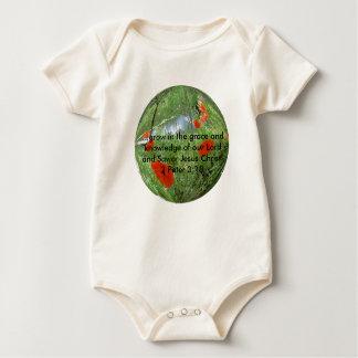 Body Para Bebé el poppyball,… crece en la tolerancia y el