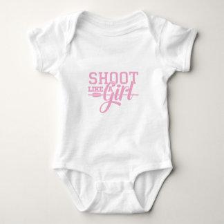 Body Para Bebé El rosa tiene gusto de un chica