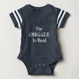 """Body Para Bebé """"El Snuggle es"""" equipo real de la una pieza del"""