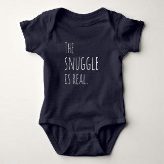 Body Para Bebé El Snuggle es equipo real del bebé
