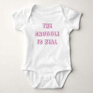 Body Para Bebé El SNUGGLE ES fuente REAL del rosa del mono del