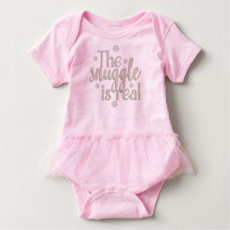 Body Para Bebé El Snuggle es mono real
